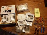 Vintage Wartime Photos, US Military Pins, Postcards