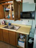 Microwave, Contents of Cabinets