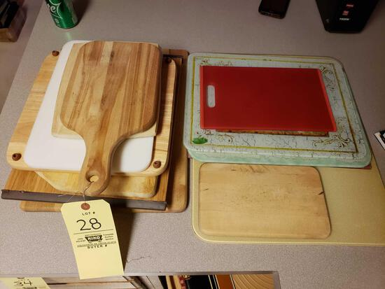 Assorted Cutting Boards