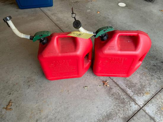 (2) Gas Cans