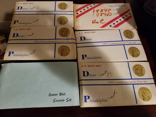 Mint sets, bid x 11