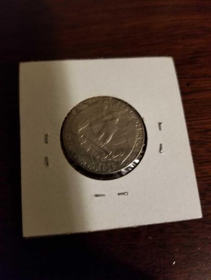Unusual 2 tails quarter