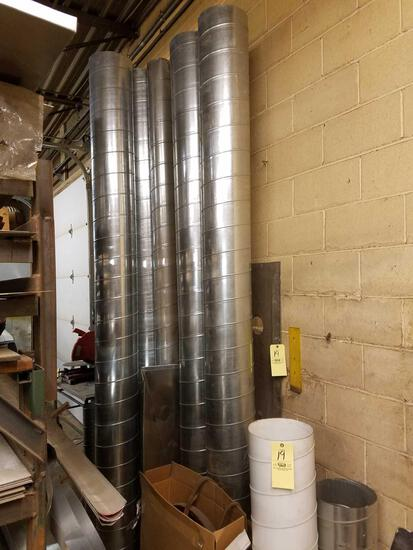 Tube galvanized ducts work lot