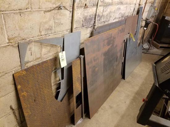 Plate steel, remnants