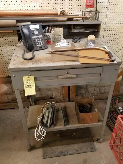Foremans desk and hardware