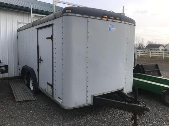 Pace Enclosed box trailer 7ft by 14ft