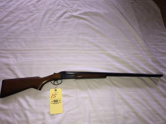 Stevens Model 311 20 ga. SxS shotgun