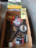 Antique wrenches - lawn edging - etc