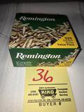 Remington 525 rds. Golden Bullet .22 cal. Ammo