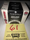 Brick of Federal Target Grade .22 cal. Ammo 325 rounds