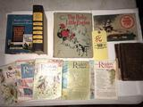 McGuffeys sixth grade reader - The Perkey Engine - Pearl Harbor Story book - others