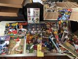 '90s Beckett books, Gameday magazines, Tuff Stuff magazines, etc