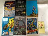 (6) Comic Books