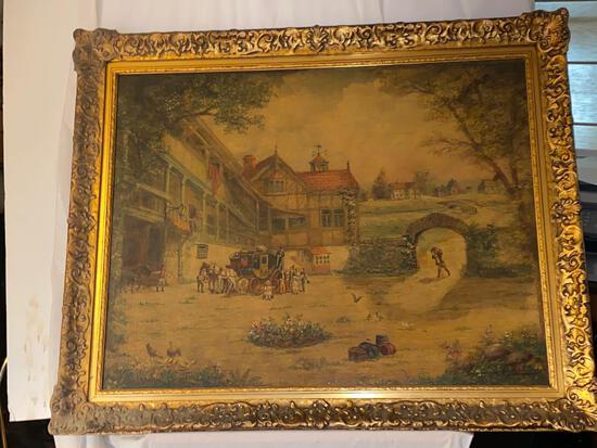Art - Paintings - Clyde Singer - 16896 Bill Gill