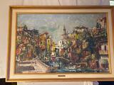 L. Bartlett signed oil/canvas,