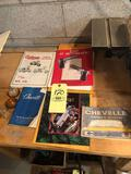 Gun Books, 1967 Chevelle Owners Manual, 1982 Chevette Manual
