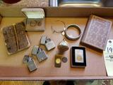 Zippo Lighters, Vintage Books, Bracelets, Watch