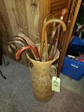 Canes and Cane Basket