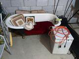 Bathtub Chair and Dehumidifier