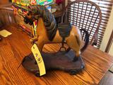 Wood Horse Pull Toy