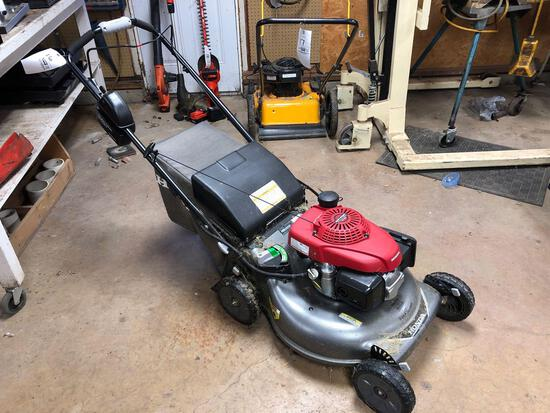 Honda push mower w/ bagger