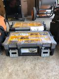 (2) toolboxes w/ plumbing supplies