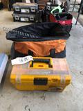 Toolbox, tool bag, contents