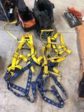 (2) Del Sala safety harnesses