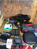 Team Tenergy balancing charger, batteries, toolbox