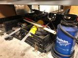 Large lot of pipe and fittings