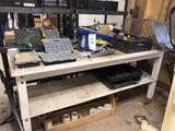 Hardware, organizers, rolling shop table