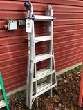 Werner 21ft multi ladder