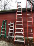 12ft Werner step ladder