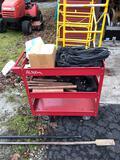 Shop cart, copper pipe