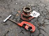 Ridgid pipe cutter, threader