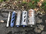 (5) dry core bits