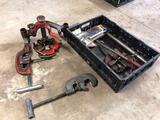 Ridgid pipe cutter, Ridgid 811A universal die w/ reamer