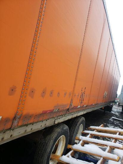 2002 Wanc Wabash National Dry Van Semi-Trailer, Vin #1JJV532W92L796511, 53 ft.