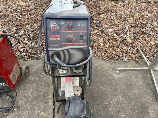 HOBART HANDLER 135 WIRE FEED WELDER