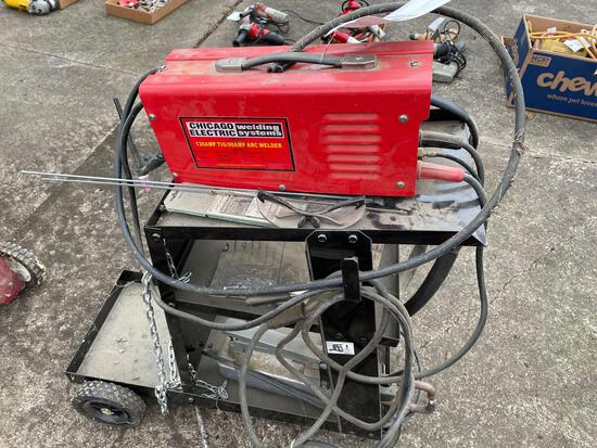 Chicago Electric 130amp Tig/90 Amp Arc Welder