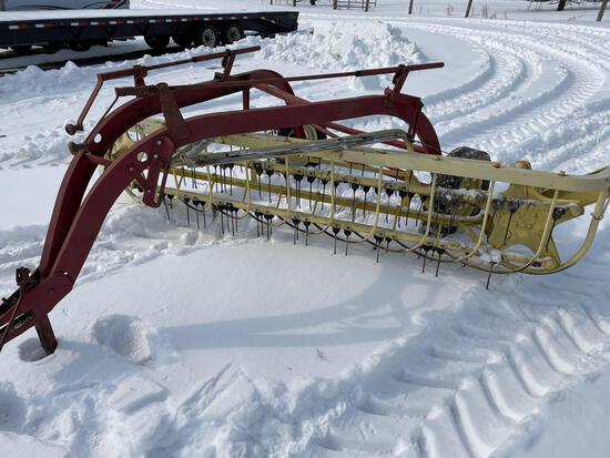 NEW HOLLAND 55 ROLL BAR RAKE