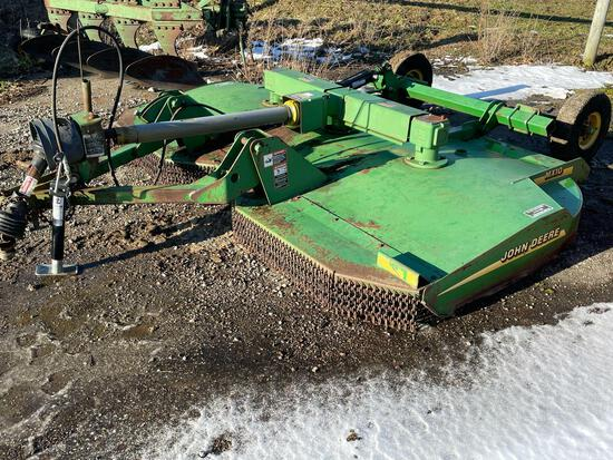 JOHN DEERE MX10 PULL TYPE BRUSH HOG
