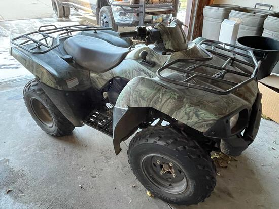 2007-KAWASAKI BRUTE FORCE 650 FOUR WHEELER