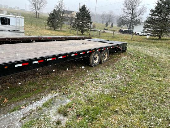 2019-LOAD TRAIL 25' + 5' GN TRAILER