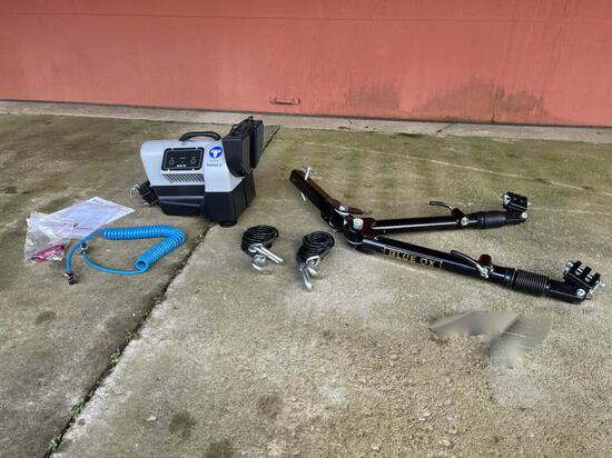 New Blue Ox Patriot II braking system