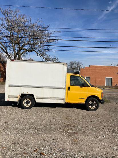 1997 GMC 3500 Box Truck