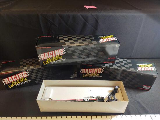 NHRA Winston Drag Racing Collectibles 1:24 Scale Diecast Top Fuel Dragsters