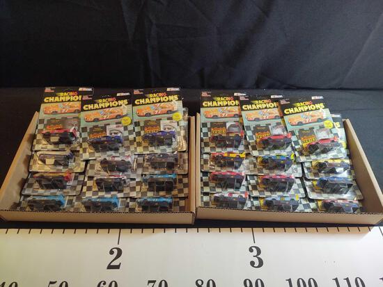 24 Nascar Racing Champions Diecast Cars