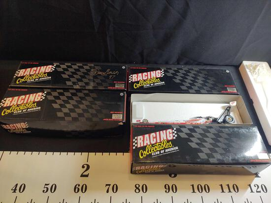 4 NHRA Winston Racing Collectibles 1:24 Scale Diecast Top Fuel Dragsters
