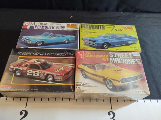4 Sealed Model Kits